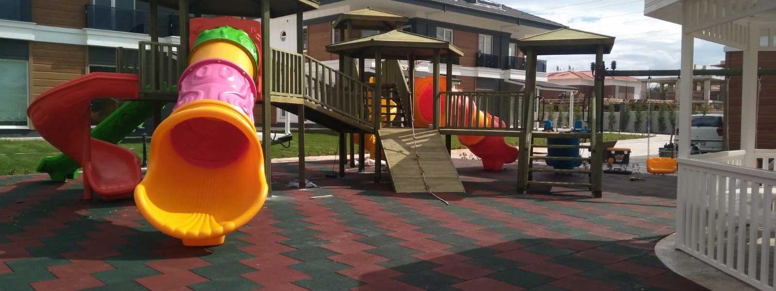 Ahşap Çocuk Oyun Parkları