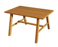 Ahşap Dikdörtgen Bahçe Masası PA - BM0095