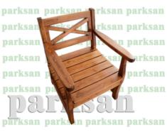 Oturma Bankı  (Ahşap Koltuk)  PA - B161