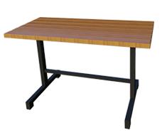 Ahşap Dikdörtgen Bahçe Masası PA - BM81
