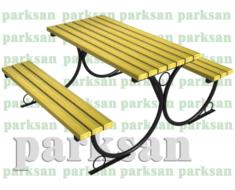 Piknik Masası  (Metal Ayak) PA - P08