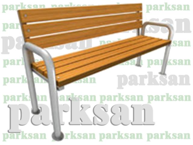 Ahşap & Metal Oturma Bankları / Oturma Bankı (Metal Ayak) PA - B95