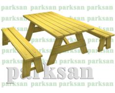 Piknik Masası  (Ahşap Masa)  PA - P35
