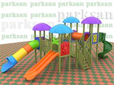 Ahşap Çocuk Oyun Parkı  (Klasik Seri)  PA - OP64